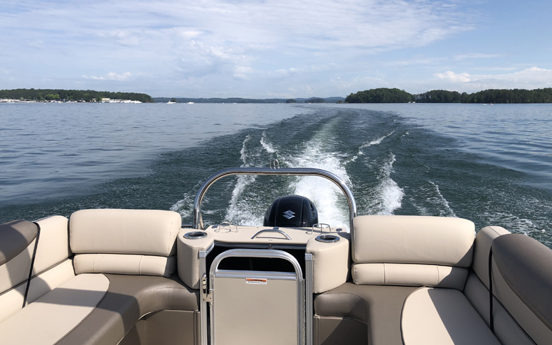 Boat charters on Lake Lanier - North Georgia Boating Adventures